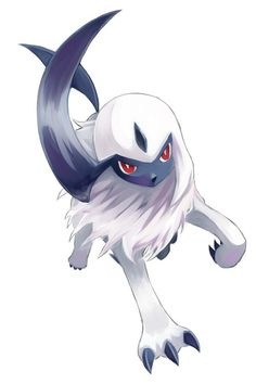 Absol. Don't forget to like this Pokemon Facebook page for more cool Pokemon content: http://www.facebook.com/shinydragonairx