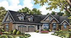 Plan Of The Week: The Hunter Creek - House Plans Blog