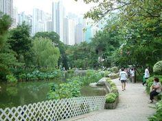 Hong Kong Park, nowadays. Field Trips, Hong Kong, Public, Landscape, Park, Landscape Paintings, Parks