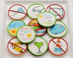 Beki Cook's Cake Blog: School's Out for Summer - Cookies