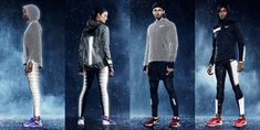 Be seen and stay dry with the Nike Flash
