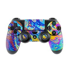 Sony Controller Skin Kit - World of Soap by Andreas Stridsberg - DecalGirl Decal Sticker Cool Ps4 Controllers, Game Controller, Playstation, Wii, Cry Anime, Anime Art, Gaming Computer, Gaming Chair, Computer Nook