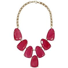 Harlow Necklace in Pink - Kendra Scott Jewelry ($195) ❤ liked on Polyvore