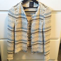 Zara Jackets & Coats - Zara trf tweed jacket size small