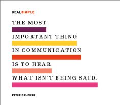 Beyond limitations of words // peter drucker quote // real simple communication The Words, More Than Words, Cool Words, Daily Quotes, Great Quotes, Quotes To Live By, Inspirational Quotes, Simple Quotes, Motivational