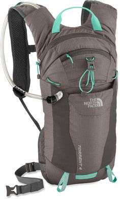 Perfect to bring along on backpacking or camping trips- you can then wear it while going on a day hike!     The North Face Torrent 4 Hydration Pack - 70 fl. oz. - Women's -