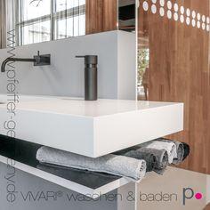 Fantastisch Design Waschtisch Aus Corian® Mineralwerkstoff #corian #vivari #waschtisch  #vanity #solidsurface
