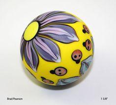 Flower Power Marble Brad Pearson     SRA.    via Etsy.