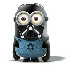 Despicable Me ~ Minion ~ Darth Vader from Star Wars Minions Images, Minion Pictures, Minions Quotes, Funny Pictures, Funny Images, Funny Pics, Funny Jokes, We Love Minions, Cute Minions