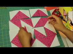 Como hacer cuadrado de patchwork- Block #7 - YouTube
