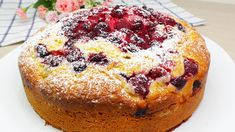 Easy Cake Recipes, Sweet Recipes, Baking Recipes, Dessert Recipes, Bolo Chiffon, Bolos Low Carb, Different Types Of Bread, Quick Cake, Biscotti Recipe