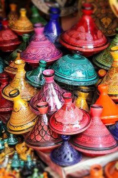 Decorated Tagines