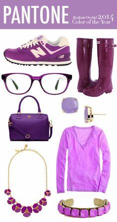 Radiant Orchid - Fashion