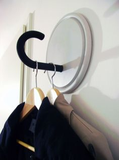 Love this DIY umbrella hook! via Julia...