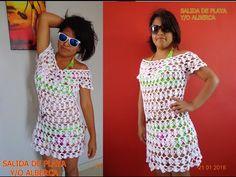 Sublime Crochet for Absolute Beginners Ideas. Capital Crochet for Absolute Beginners Ideas. Blouse Dress, Knit Dress, Diy Crochet, Crochet Top, Bikinis Crochet, Crochet Baby Bonnet, Crochet Blouse, Crochet Videos, Crochet Designs