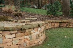 Spruce up your landscape with a retaining wall