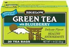 who loves green tea with blueberry?  With Blueberry?