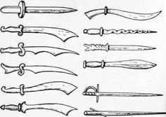 A Few Toys Wooden Swords Knives And Daggers 148