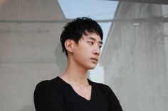 Black Color & Layered Cut http://blog.naver.com/hairmaruni/110168715174