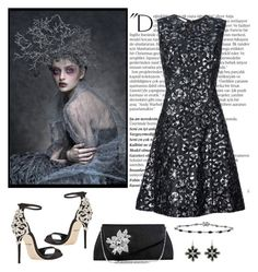 """Untitled #986"" by gallant81 ❤ liked on Polyvore featuring Dolce&Gabbana, 1928, Journee Collection, Balmain and Oscar de la Renta"