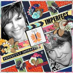 Imperfect - Bundle by Red Ivy Design is a fun and whimsical collection for digital scrapbooking. This collection is a reminder that as imperfect as we all are we are still lovable and all our imperfections make us who we are.
