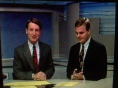 A newscast with Greg Roberts from about 1991.