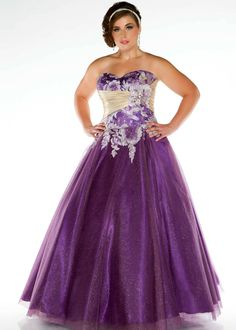 ball gowns plus size