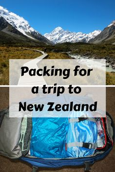 Packing tips for a trip to New Zealand Wondering what to pack for a trip to New Zealand in spring or fall? Read this post to find out (complete with sample packing list for women)! Packing Tips For Travel, Budget Travel, Travel Guides, Travel Hacks, Packing Lists, Travel Checklist, Packing Tricks, Smart Packing, Travel Essentials