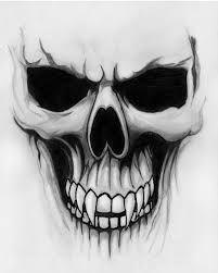drawings of skulls - Google Search
