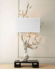 """Silvery Mesquite Table Lamp at Horchow 