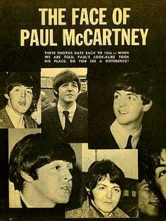 the face of Paul McCartney -- and I DO see a HUGE difference.....