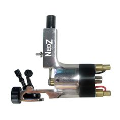 NEW Rotary Tattoo Machine Nedz Style Heavy Duty GUN FOR Shader Liner Silver | eBay