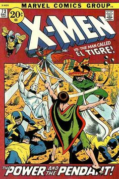 Cover for The X-Men (Marvel, 1963 series) #73
