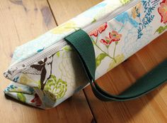 Yoga Mat Bag Zippered TopLoading in Hummingbird by goodmarvin, $42.50