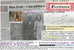 Hommage à #MaxErnst  Forêt géométrique http://www.pinterest.com/alaingirelli/les-myst%C3%A8res-de-la-for%C3%AAt/  «Un peintre se perd quand il s'est trouvé», disait #MaxERNST comme excuse. ...