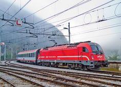 Siemens EuroSprinter Electric Locomotive in Zidani Most, Slovenia