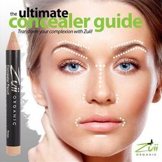 zuii organic - concealer guide