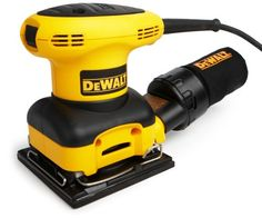 Factory-Reconditioned DEWALT D26441KR Heavy-Duty 2.4 Amp 1/4 Sheet Palm Grip Sander with Cloth Dust Bag -  Product Features  Factory-reconditioned DEWALT sander works like new 2.4-amp motor sands at 14,000 OPM, providing a superior finish Textured an