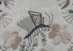 quel drôle de papillon - détail de D. Harries, 'AD 1838' (M)