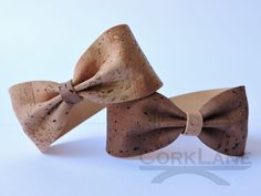 Cork ribbon bracelets