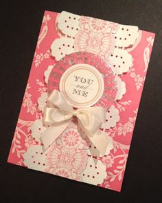 Sweet Floral Valentine's Day Card with Anna Griffin Roses