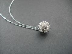 Dandelion necklace. $18.00 Etsy.