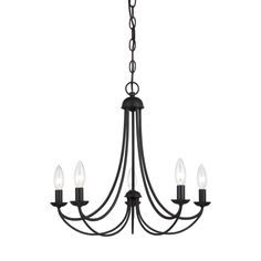 Quoizel 'Mirren' 5-light Chandelier | Overstock.com Shopping - Great Deals on Quoizel Chandeliers & Pendants
