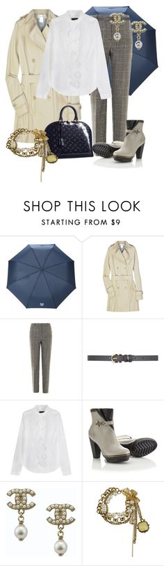 """DIAS DE LLUVIA"" by outfits-de-moda2 ❤ liked on Polyvore featuring Kenzo, Paul & Joe, McQ by Alexander McQueen, Dorothy Perkins, Burberry, SOREL, Louis Vuitton, Chanel and Forever 21"