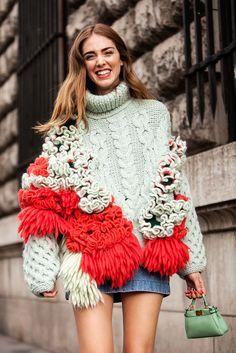 Paris Fashion Week Winter 2015 – Die schönsten Street-Styles aus Paris – SI Style