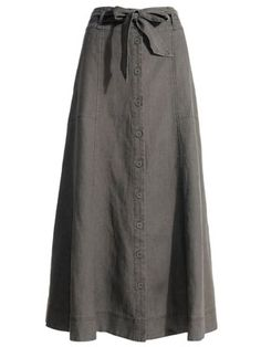 have linen skirt like this....will use for baptism