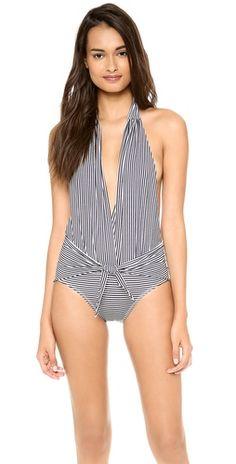 Thayer Halter One Piece Swimsuit  9d10055eb6180
