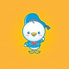Kawaii Donald Duck by Jerrod Maruyama, via Flickr