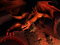 dragonsdeviantart | 28 Most awesome Black dragon conceptual art in HD