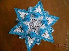 Vánoční hvězda * quilling